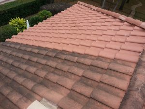 Soft Washing A Tile Roof