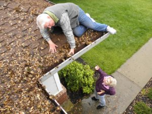 Gutter Cleaning Danger