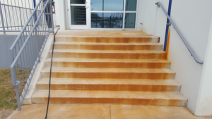 Rust Stained Stairway