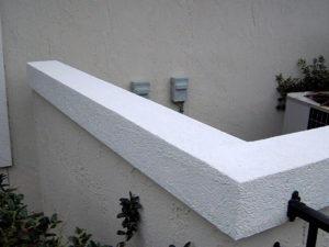 Soft Wash Pressure Washing A Stucco Wall